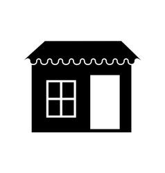 door window property exterior icon vector image