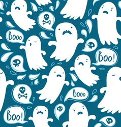 Ghosts pattern vector image vector image