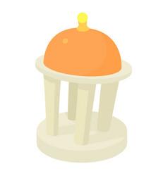 rotunda icon cartoon style vector image