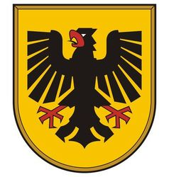 Dortmund Coat of Arms vector image vector image