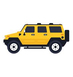 Hummer suv vector