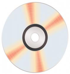 shiny music cd vector image vector image