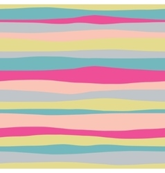 Abstract horizontal colorful seamless pattern vector image