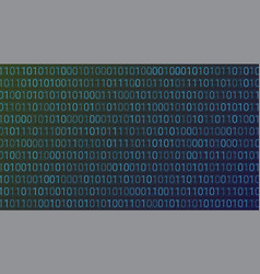 Abstract technology background binary computer vector
