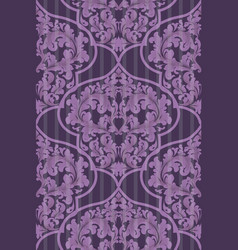 baroque seamless pattern trendy ultra vector image