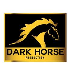 Dark Horse Production Logo vector