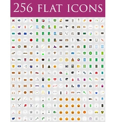 Flat icons 11 vector