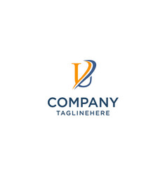 Letter u luxury swoosh corporate logo design vector