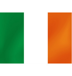 national flag ireland for vector image