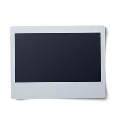 Polaroid frame isolated on vector