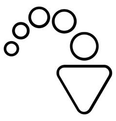 Redo Outline Icon vector