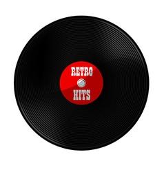 Retro hits vector image vector image