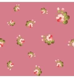 Trendy Seamless Flower Pattern vector image