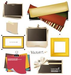 Vintage Frames Collection vector image