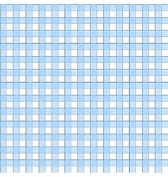 Blue white check plaid seamless pattern vector