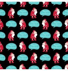Christmas seamless pattern vector image