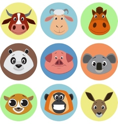Collection animals vector