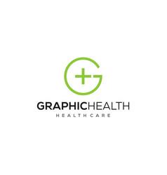 g health logo vector image