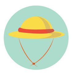 Lady hat vector