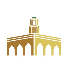 Mosque logo vector