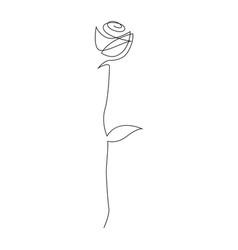 Tattoo single rose 55 Best