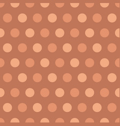 Pink polka dots background vector
