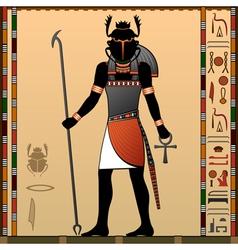 Religion ancient egypt vector