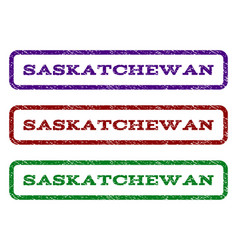 saskatchewan watermark stamp vector image