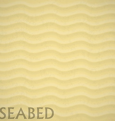 Seabed beach background eps 10 sand vector