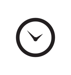 Time Or Clock Icon vector image