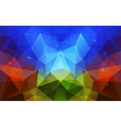 Triangular abstract colorful texture vector image