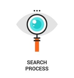 Search process icon vector