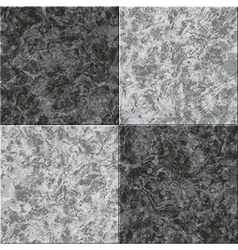 abstract gray black marble seamless texture tiled vector image