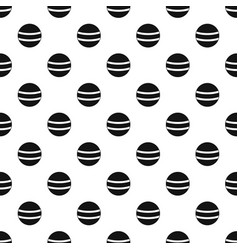 Black with white stripes pattern vector