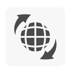 Drone equipment icon vector