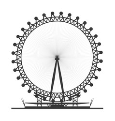 London eye symbol vector