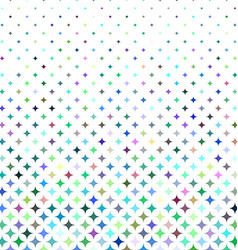 Multicolored star pattern background vector