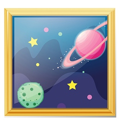 Planets cartoon vector image
