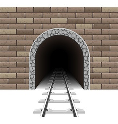 Railway tunnel 01 vector
