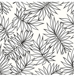 tropical branches seamless background for the vector image