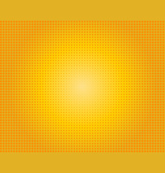 yellow orange dotted background vector image