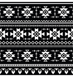 Tribal aztec seamless pattern print vector image vector image