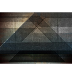Abstract grunge tech vector image