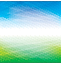 Abstract Green Blue Background vector