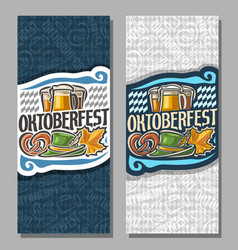 banners for oktoberfest vector image