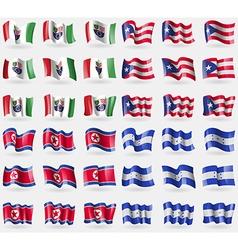 Bosnia and Herzegovina Federation Puerto Rico vector