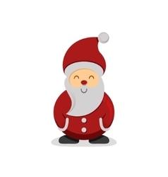 Cute cartoon-style Santa Claus vector image