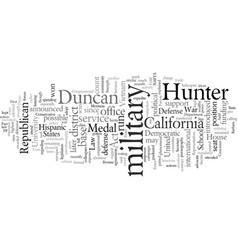 Duncan hunter republican vector
