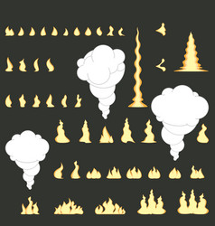 Fire collection with no gradients vector