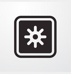 Safe deposit money sign icon flat design vector